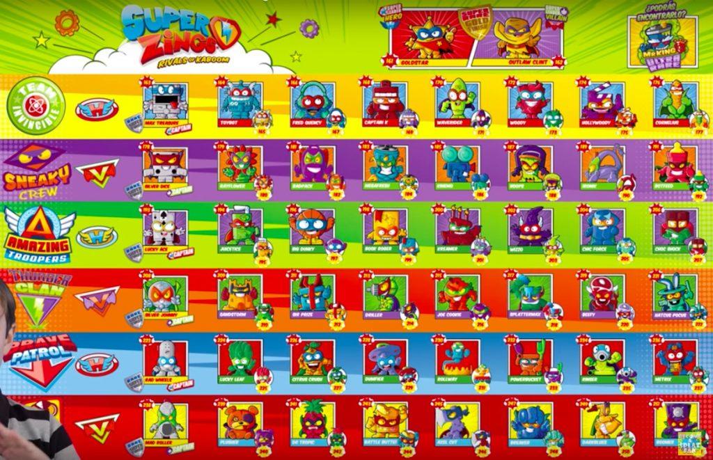 superzings serie 3 completa