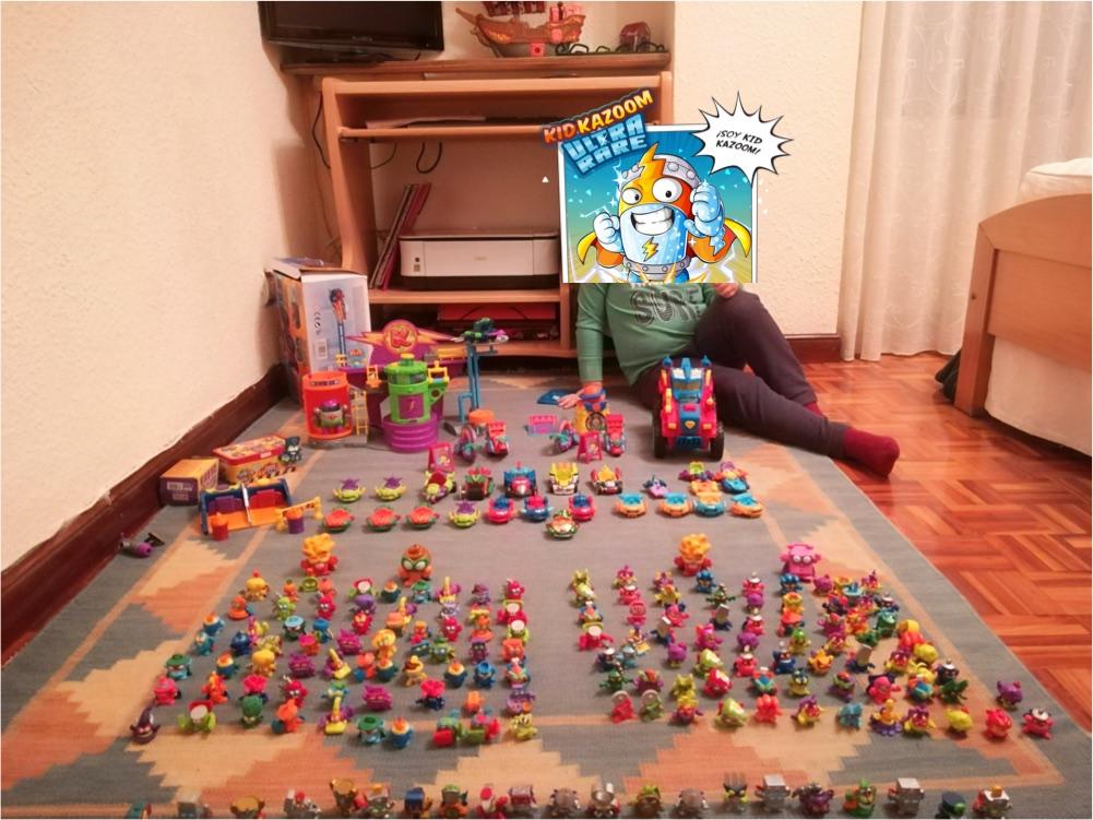 colección de Iker fan de los superzings
