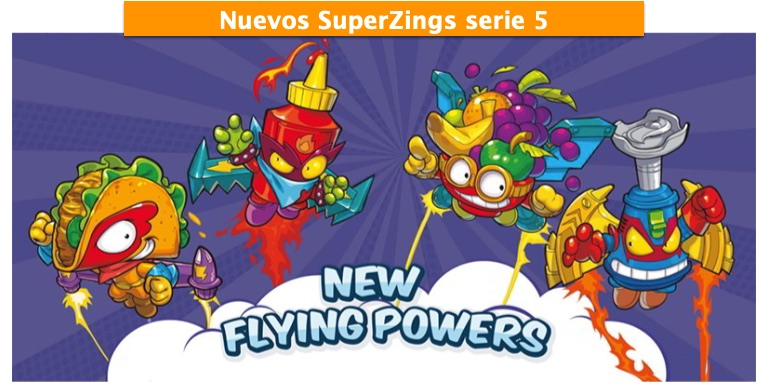 superzings serie 5 voladores