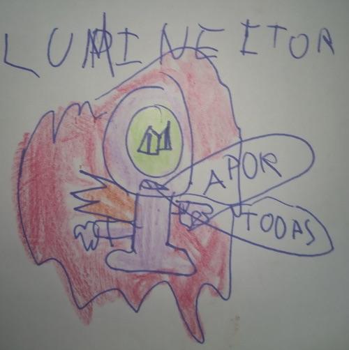 """Propuesta para SuperZings serie 6 el """"Lumineytor""""."""