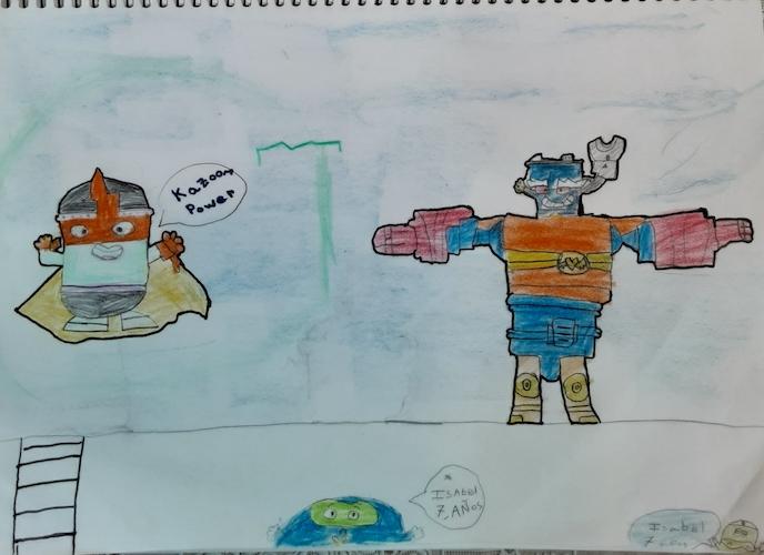 superthings Isabel Guerrero de 7 años