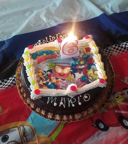 cumpleaños de mario superthings
