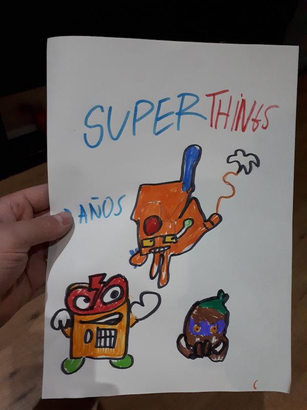superthings dibujados por fans de la nueva serie 7