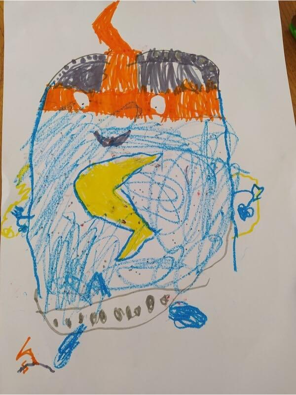 Dibujo kid kazoom SuperThings de Thimeo 5 años.jpg