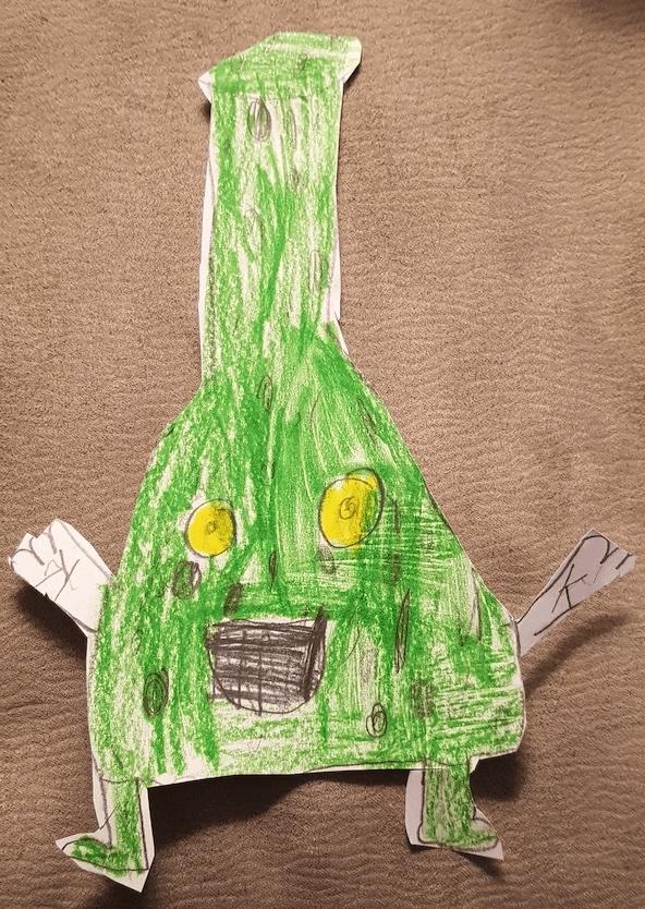 Profesor K Autor Mario de 7 años