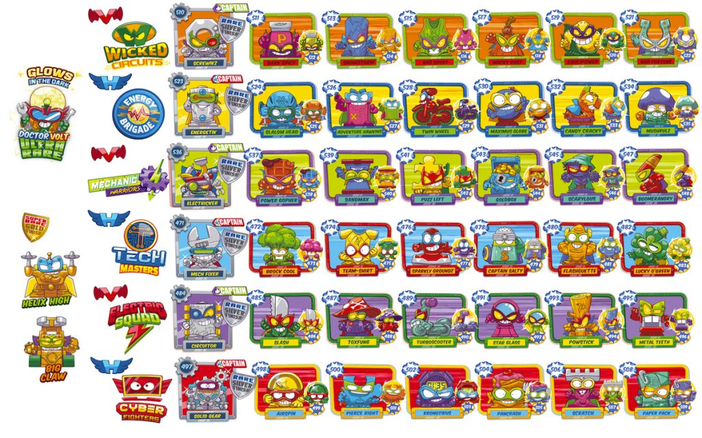 Coleccion completa SuperThings Serie 7 Power Machines