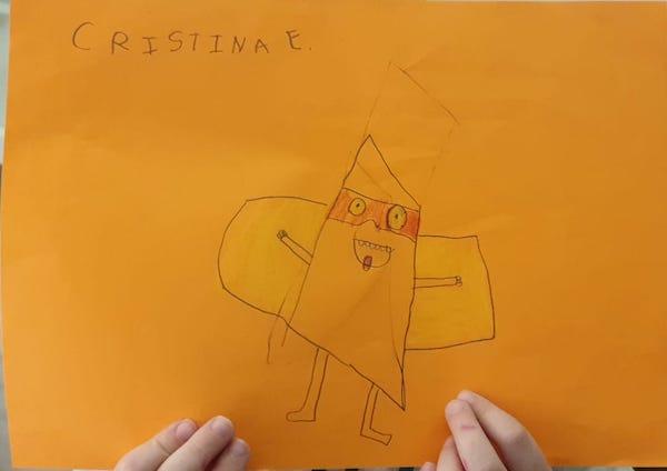 Super Dibujo SuperThings Cristina