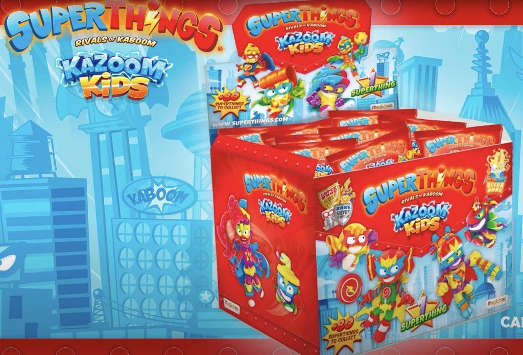 Cajas de sobres de Kazoom Kids SuperThings
