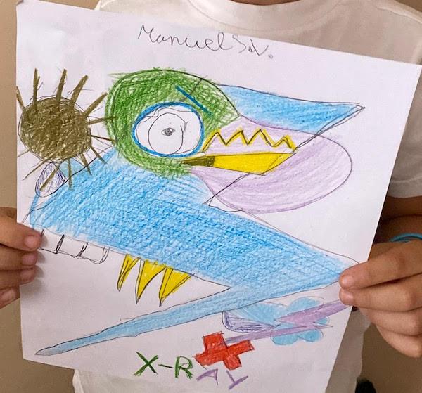 Propuesta de Manuel de 6 años del ultra raro de la serie 8