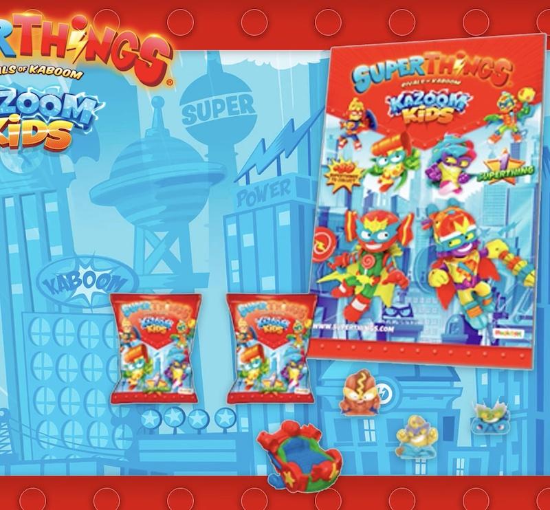 Starter Pack SuperThings kazoom kids
